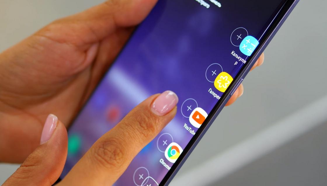 Обзор Samsung Galaxy Note 8 - ярлыки Edge для быстрого доступа