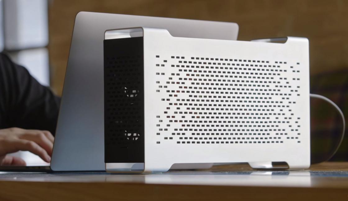 Обзор MacBook Pro 2017 - подключение Bezon Box 3