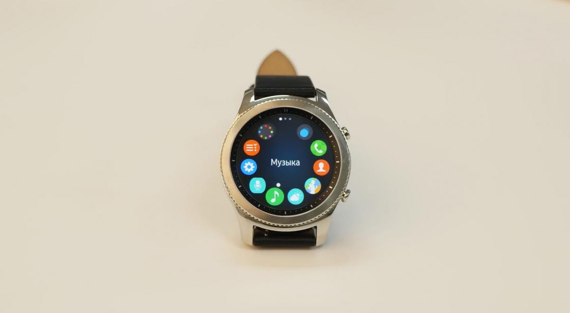Операционная система Samsung Gear S3 Classic и Frontier
