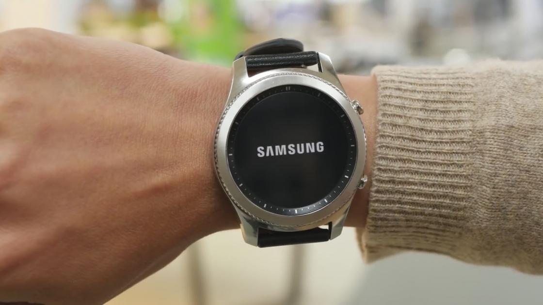 Samsung Gear S3 имеют отличный дизайн