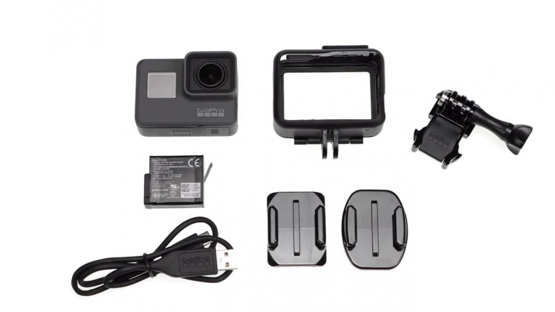 Обзор GoPro HERO 5 - комплектация