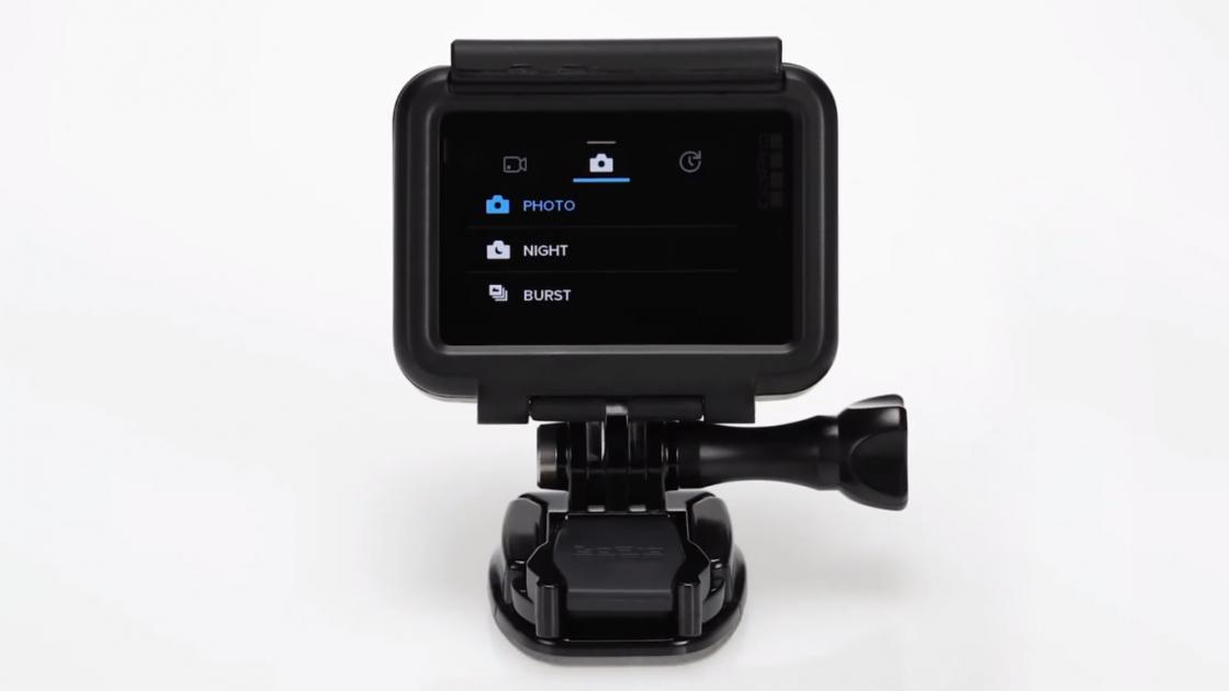 Обзор GoPro HERO 5 - в чехле с креплением