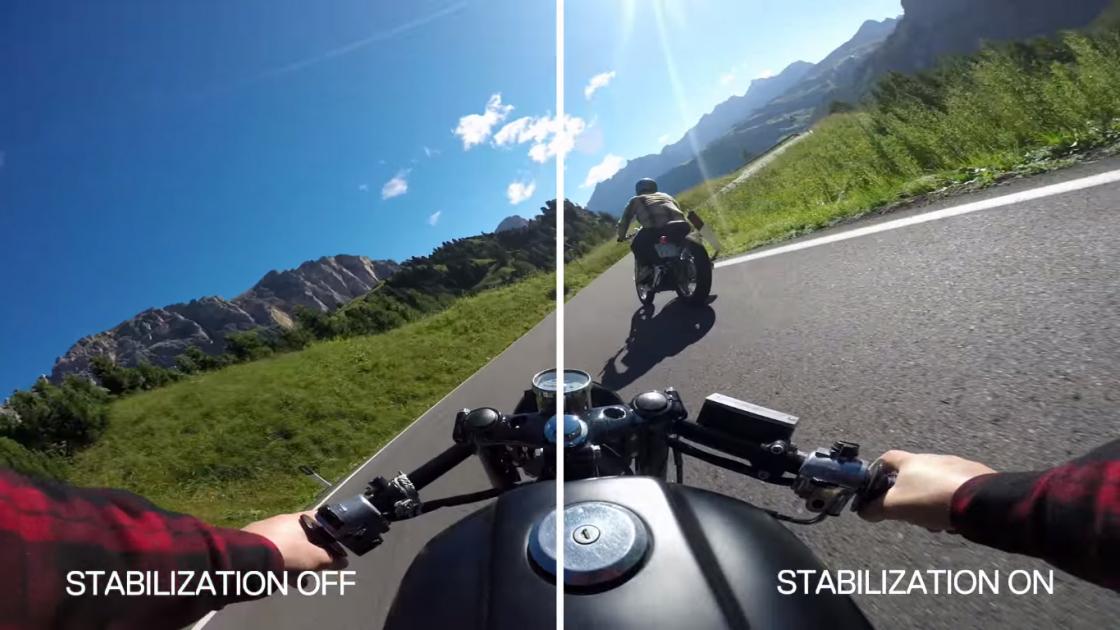 Обзор GoPro HERO 5 - стабилизация видео