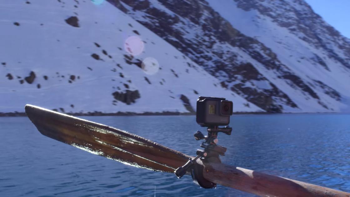 Обзор GoPro HERO 5 - крепление