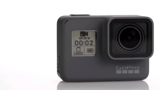 Обзор GoPro HERO 5 - вид спереди