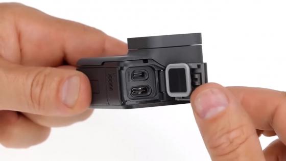 Обзор GoPro HERO 5 - разъемы