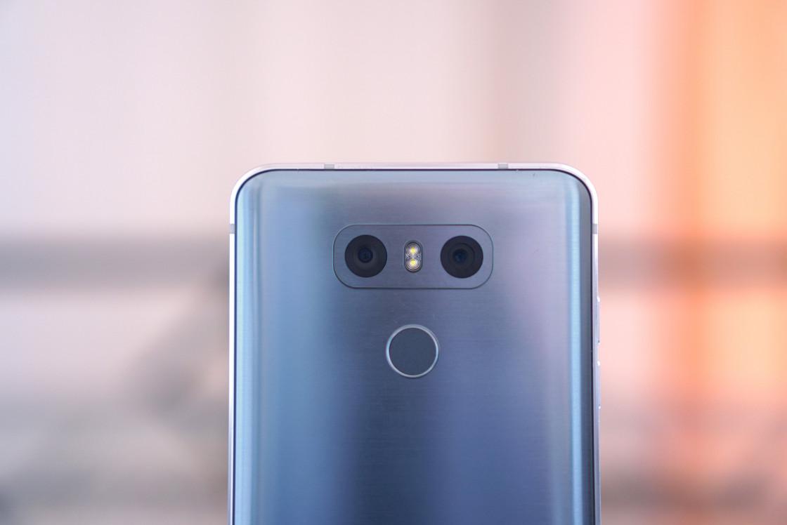 Обзор LG G6 - вид сзади, камеры
