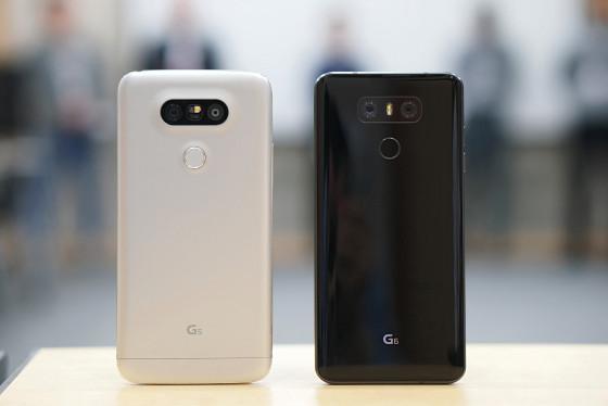 LG G6 против LG G5 - дисплей больших размеров при приблизительно одинаковых размерах (фото 3)