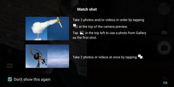 Match shot - LG G6 практический обзор