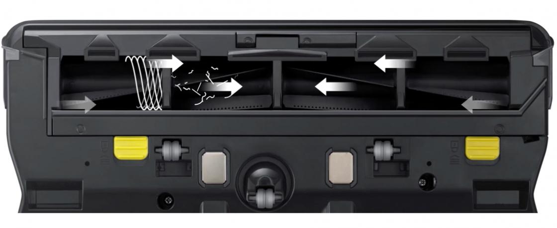 Конструкция щетки VR7070