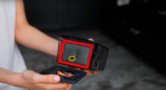 Емкость пылесборника VR7070 в разобранном виде (фото 2)