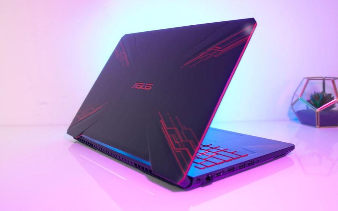 Обзор игрового ноутбука Asus TUF Gaming FX504 - дизайн