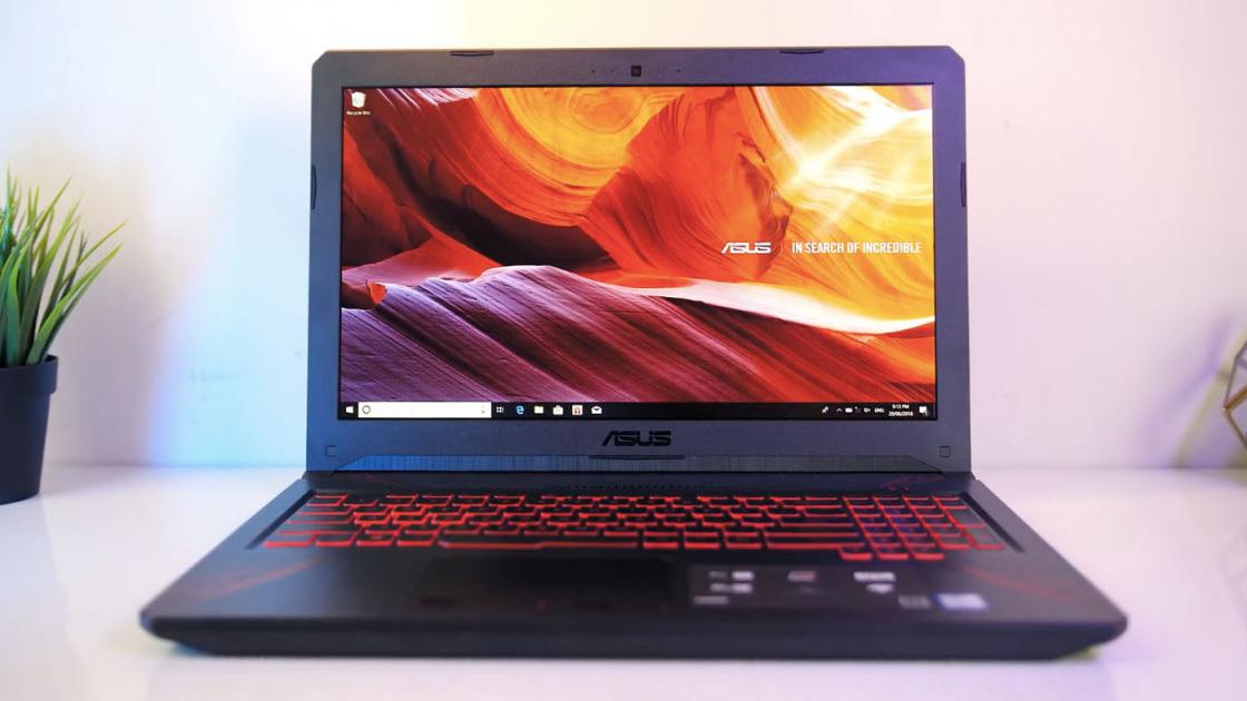 Обзор игрового ноутбука Asus TUF Gaming FX504