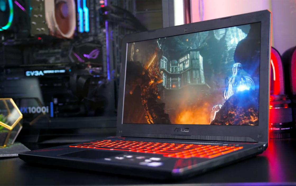 Обзор ноутбука Asus TUF Gaming FX504 - дисплей