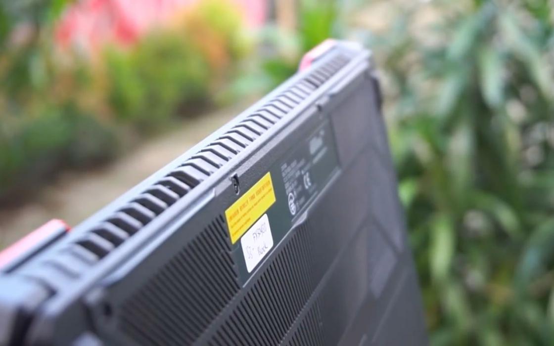 Обзор Asus TUF Gaming FX504 - охлаждение