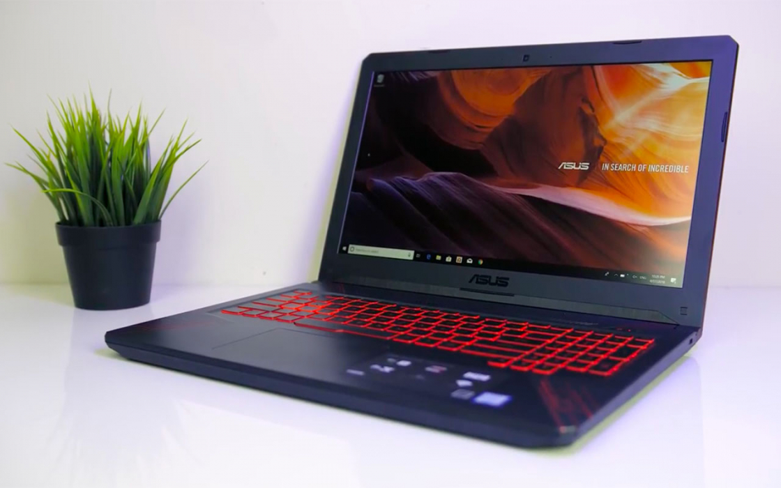 Обзор ноутбука Asus FX504