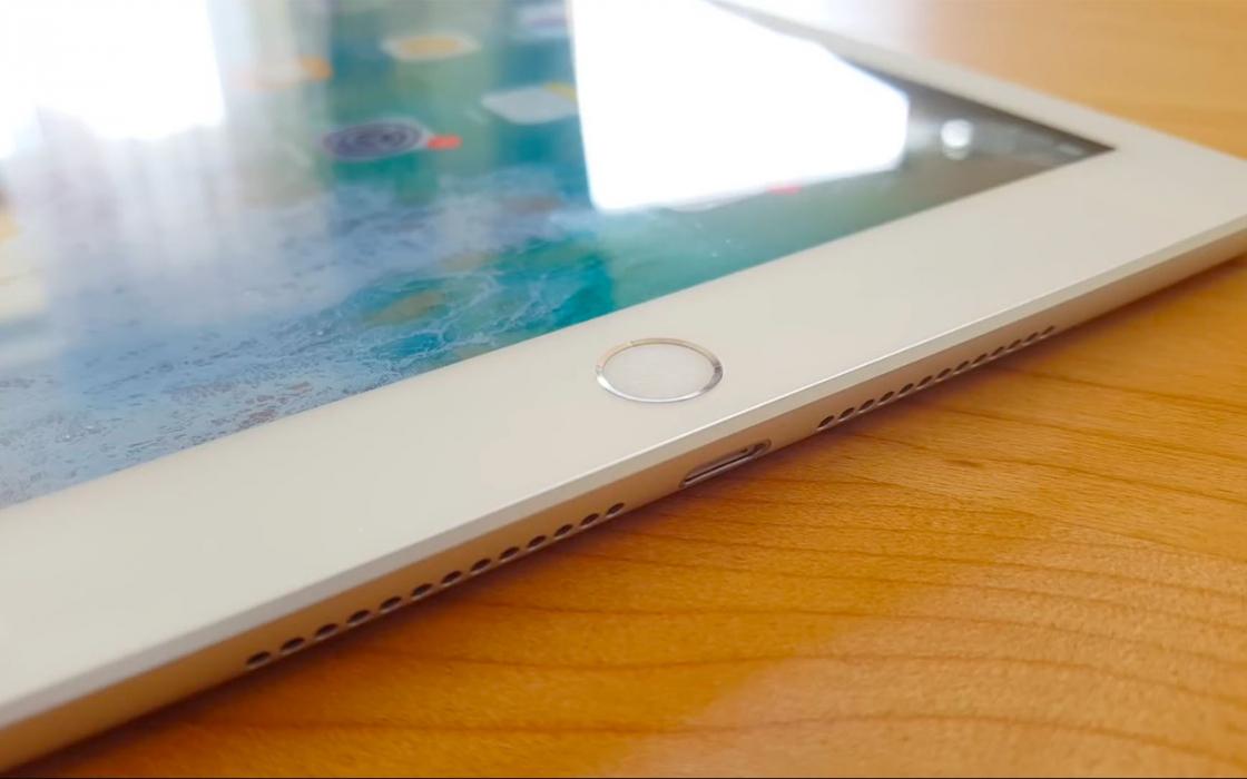 Обзор Apple iPad 9.7-дюймов (2018) - кнопка Home