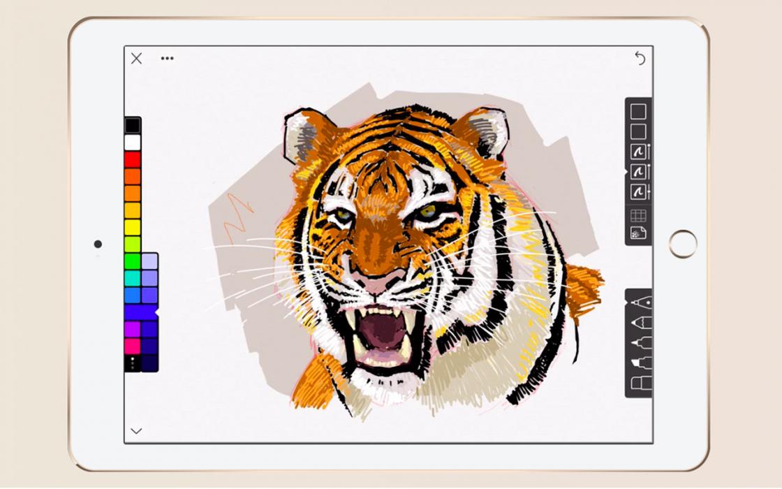 Обзор iPad 9.7-дюймов (2018) - Linea Sketch