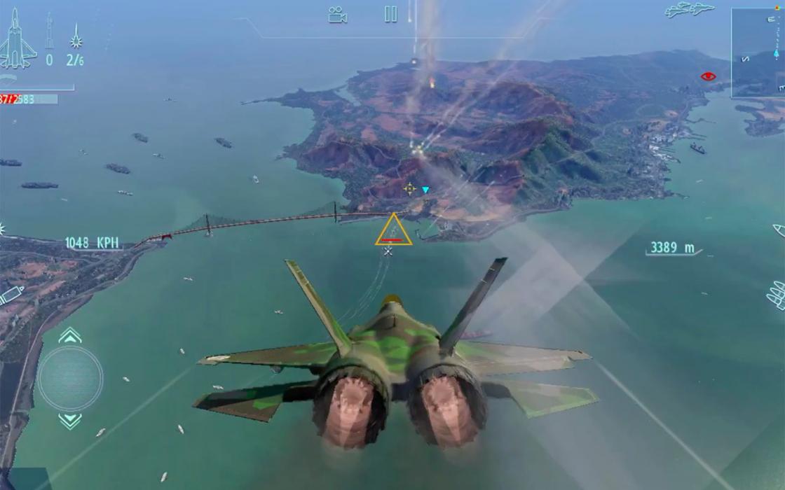 Обзор iPad 2018 - игра Sky Gamblers - Infinite Jets