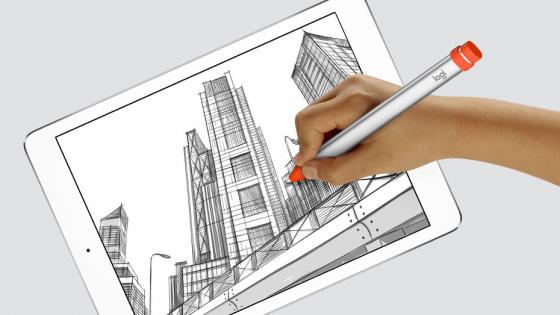 Обзор iPad 9.7-дюймов (2018) - Logitech Crayon