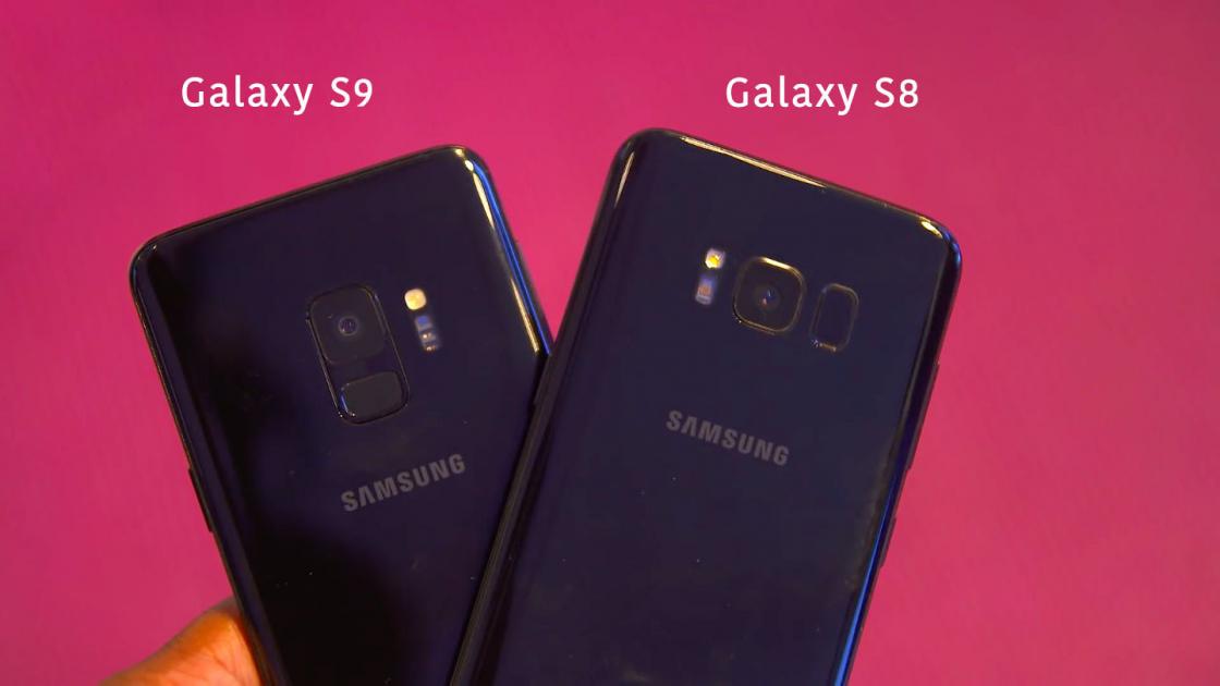 Обзор Samsung Galaxy S9 - изменения на задней панели