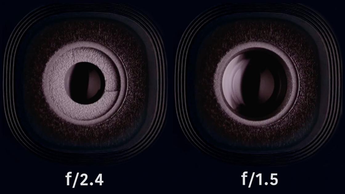 Обзор Samsung Galaxy S9 - апертуры f/2.4 и f/1.5