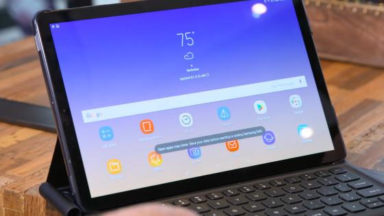 Первый взгляд на Samsung Galaxy Tab S4