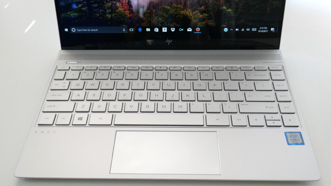 Клавиатура и тачпад HP Envy 13
