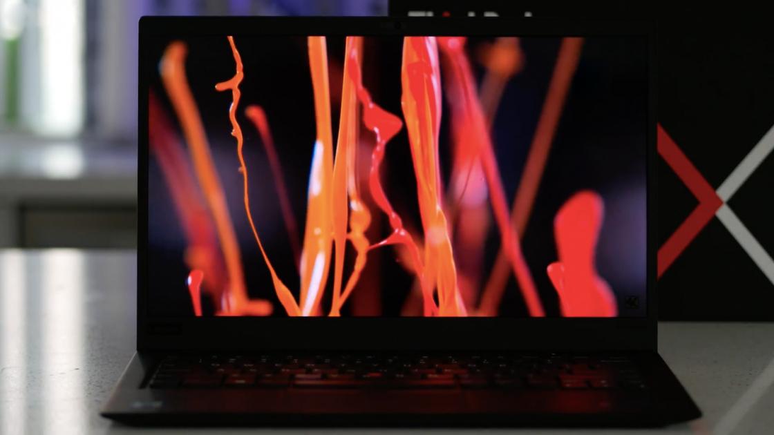 Обзор ноутбука Lenovo ThinkPad X1 Carbon (2018) - экран