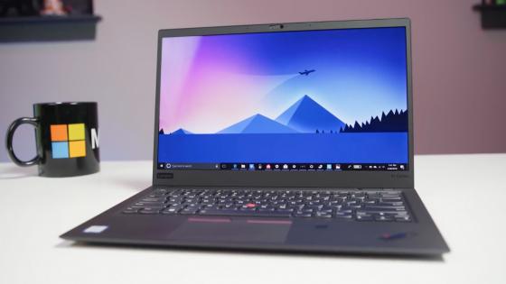 Обзор ноутбука Lenovo ThinkPad X1 Carbon (2018)