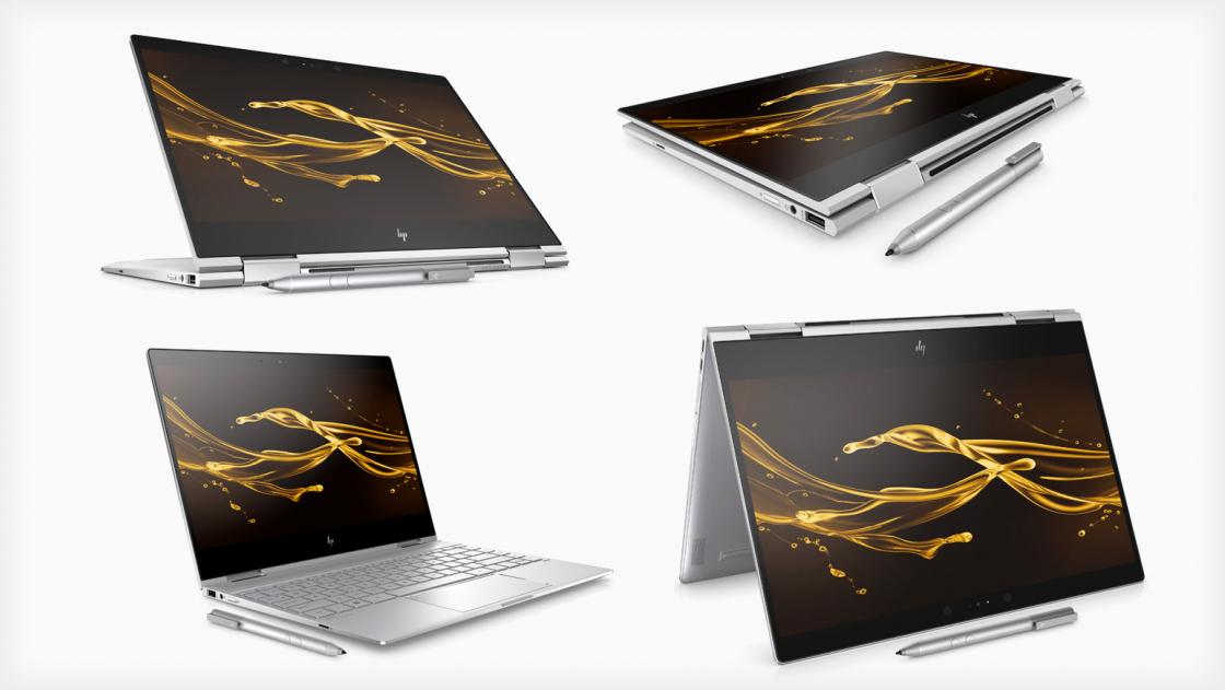 Четыре режима использования HP Spectre x360
