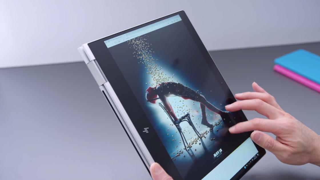 HP Spectre x360 13-дюймов в режиме планшета