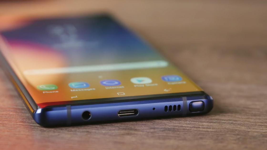 Разъемы Samsung Galaxy Note 9