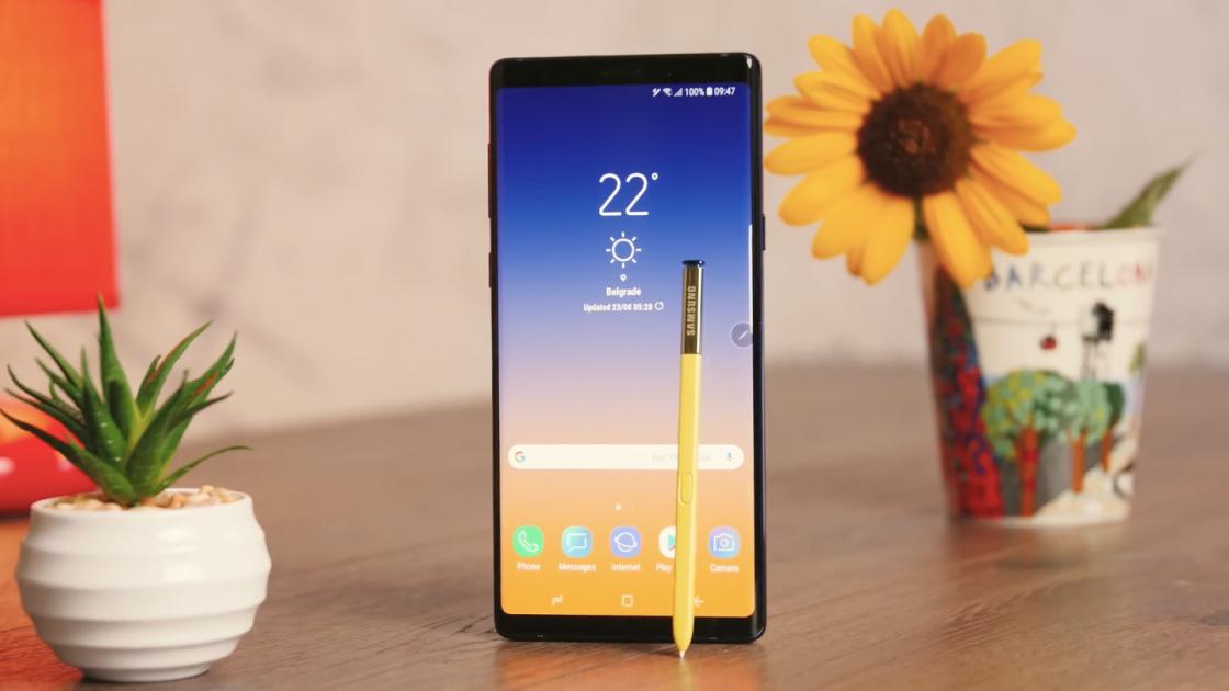Дистанционное перо S Pen Samsung Galaxy Note 9