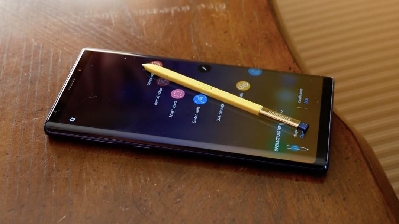 Обзор Galaxy Note 9 - Стилус S Pen