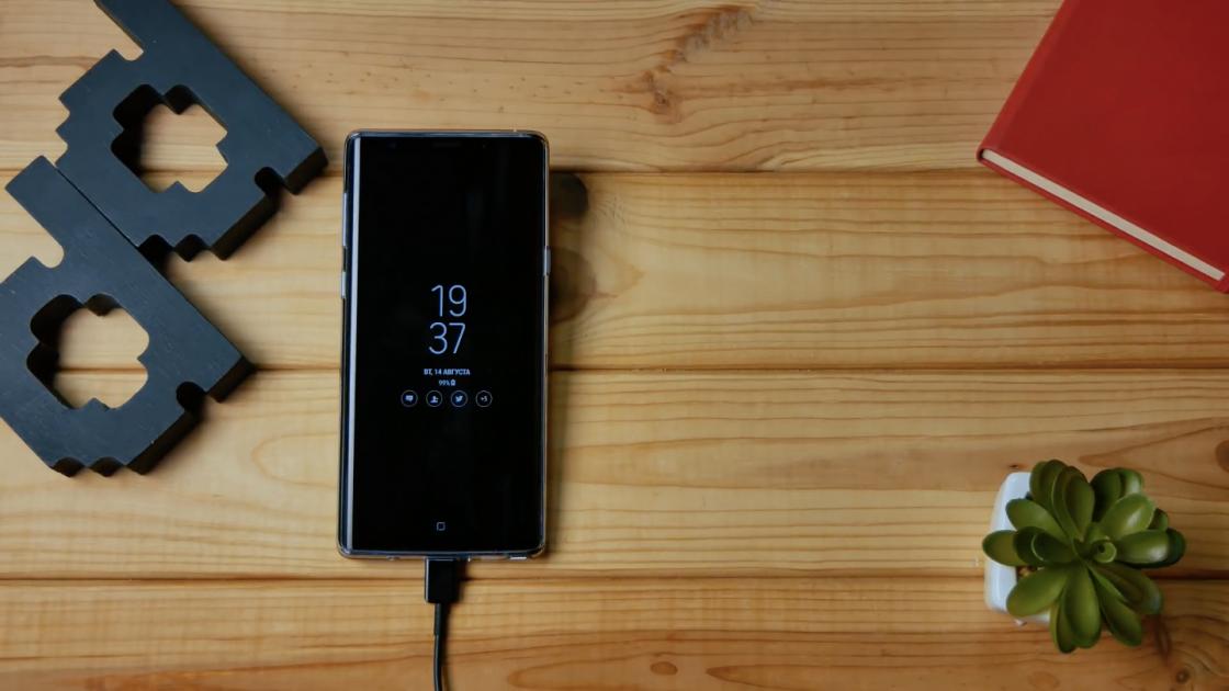 Автономность Samsung Galaxy Note 9