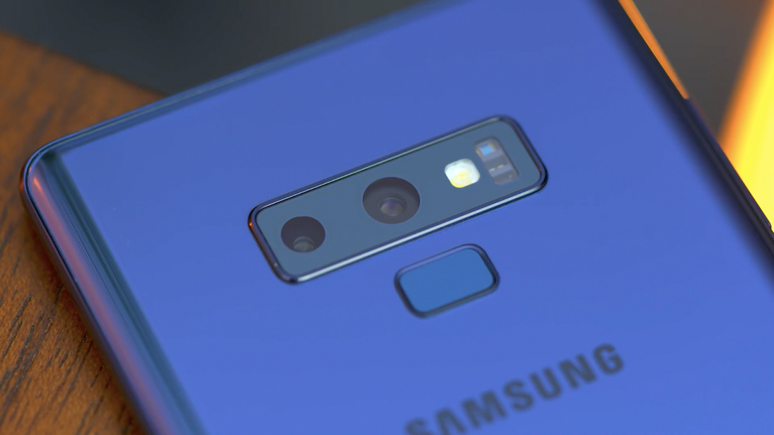 Камера в Samsung Galaxy Note 9