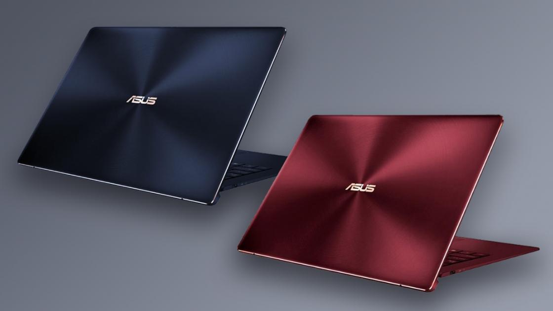 Корпуса Asus ZenBook S UX391UA темно-красный (Burgundy Red) и темно-синий (Deep Dive Blue)