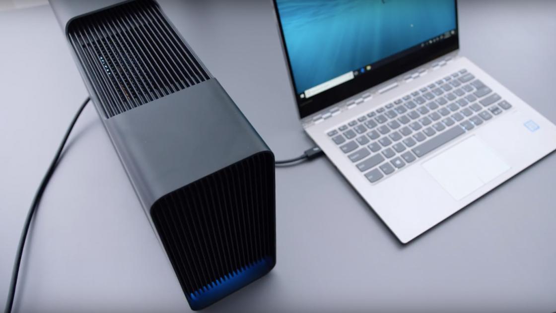 Подключение к портам Lenovo Yoga 920