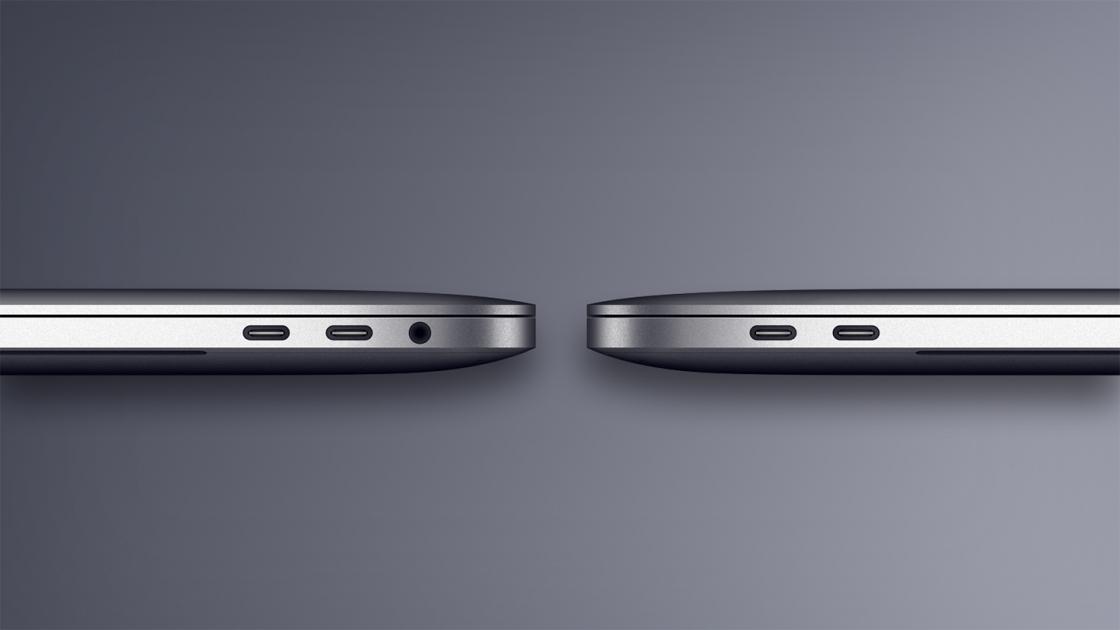 Разъем Thunderbolt 3 MacBook Pro 13