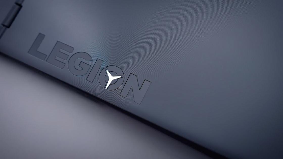 Фактура крышки ноутбука Lenovo Legion Y530