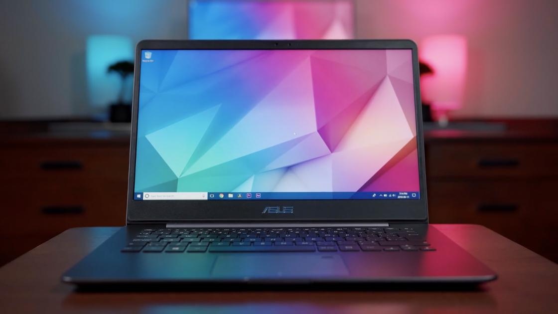 Обзор ноутбука ASUS ZenBook (UX430UA): компактный и производительный
