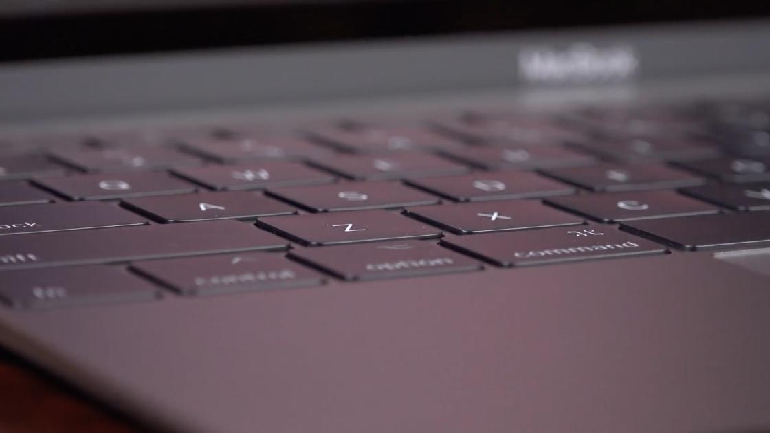 MacBook (2017) высота кнопок
