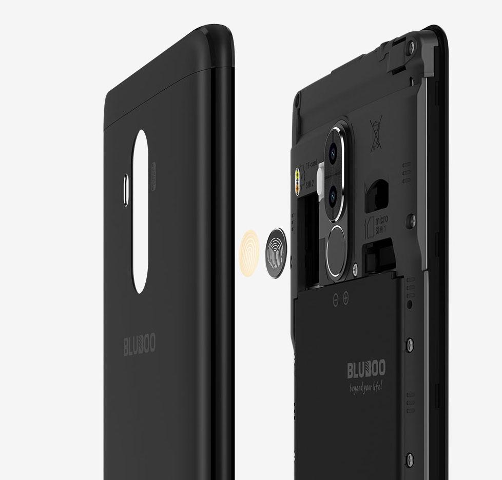 Обзор смартфона Bluboo D1 - сканер отпечатка пальца
