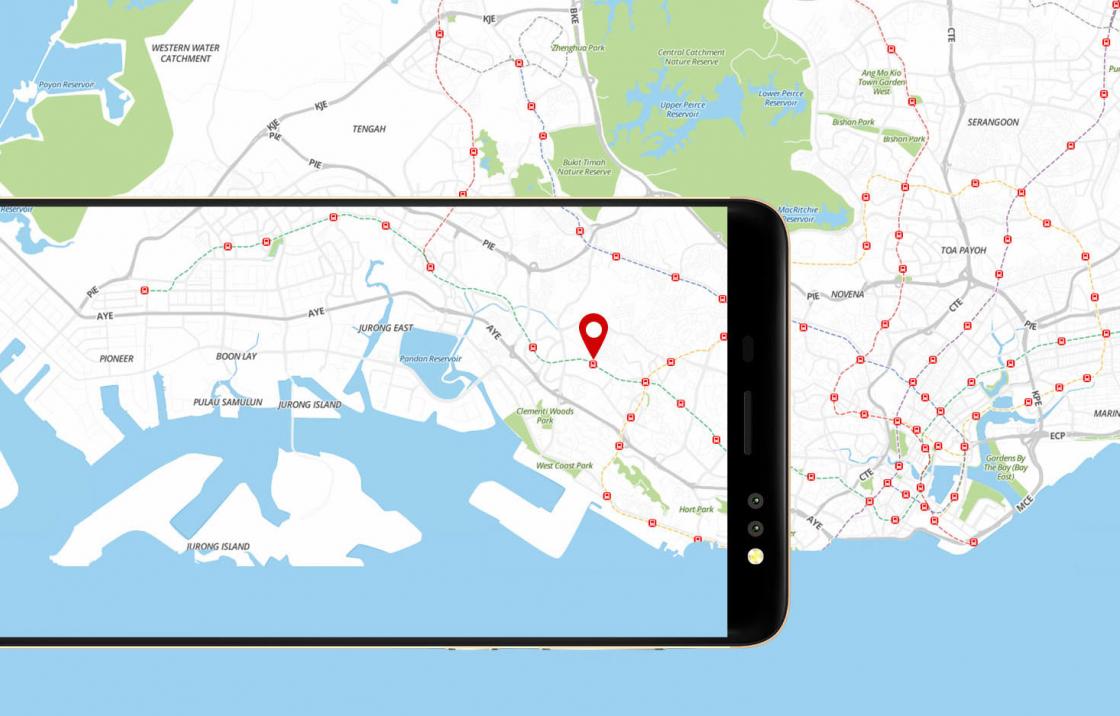 Обзор смартфона Bluboo D1 - GPS