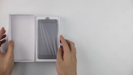 Распаковка смартфона Bluboo D1 (фото 2)