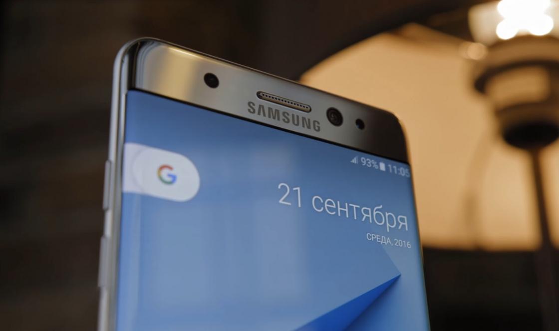 Обзор Samsung Galaxy S8 - верхняя часть