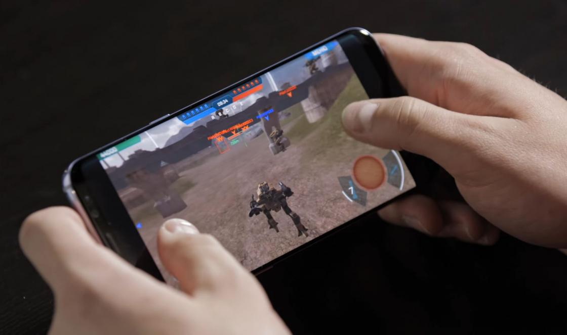 Обзор Samsung Galaxy S8 - тестирование игры