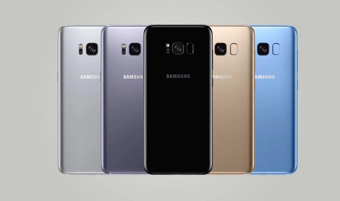 Обзор Samsung Galaxy S8 - цвета