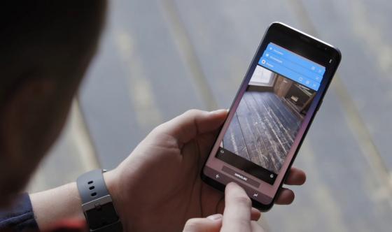 Обзор Samsung Galaxy S8 - съемка фото 3